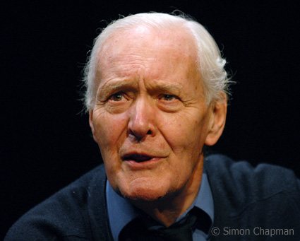 Tony Benn: Gave the inaugural Bristol NUJ Benn Lecture (Photo by Simon Chapman)