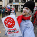 Stop the BBC cuts - Bristol Flashmob