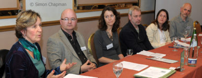 NUJ Bristol Branch Media Opportunities Day at the Ramada Hotel, Bristol; 4 April 2009. (Photo © Simon Chapman)