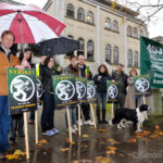 View from the picket line: BBC pensions strike in Bristol, 5 November