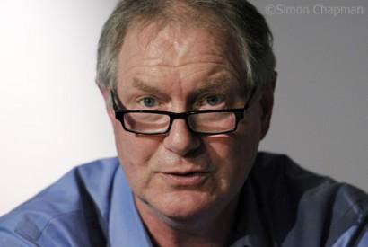 Roy Greenslade who blogs for The Guardian. (Photo © Simon Chapman)
