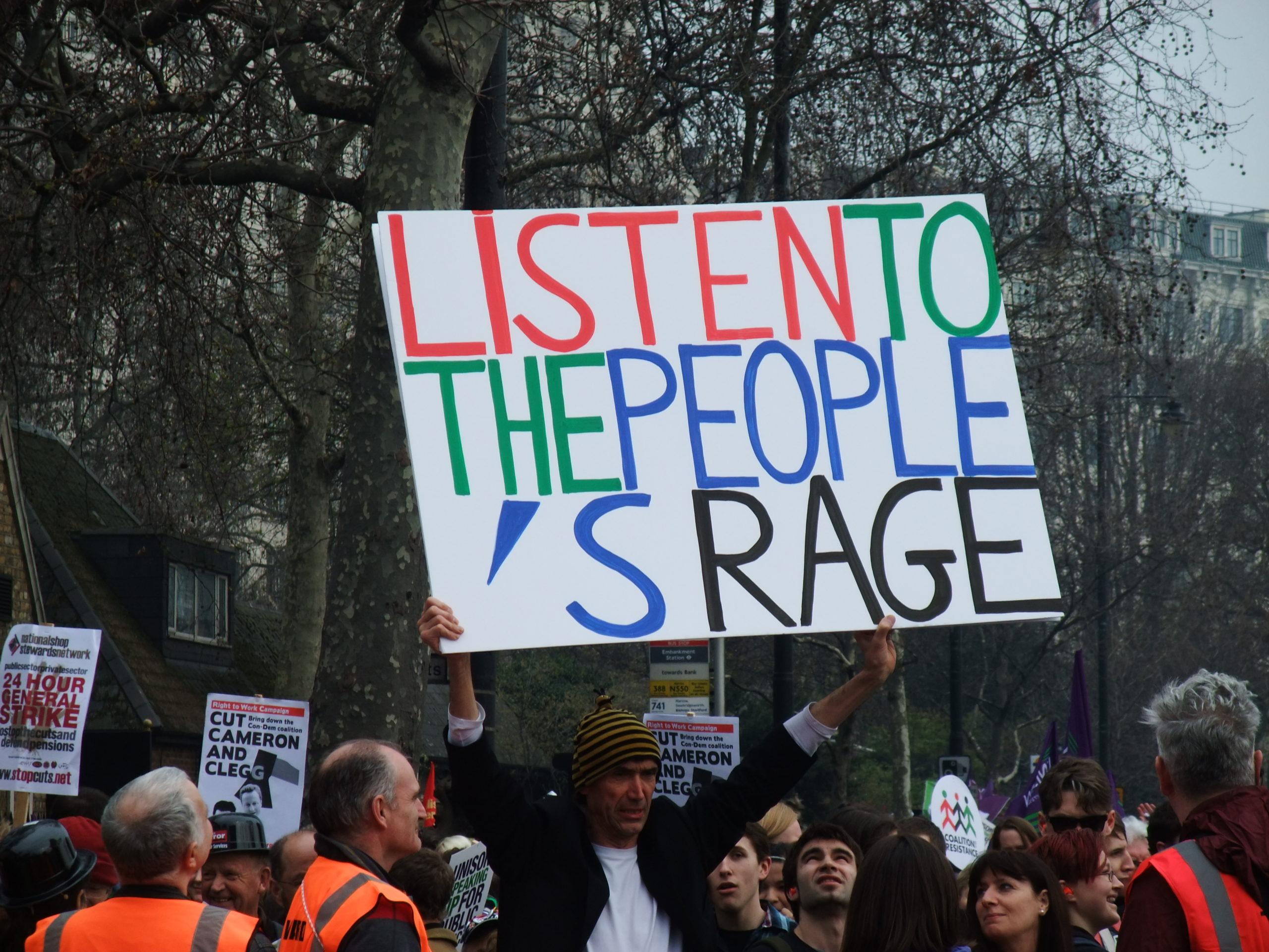 March for the Alternative, 26 March 2011, London