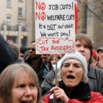 The rally took place in front of the Council House. (Photo © Simon Chapman)