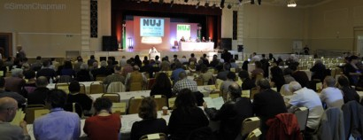The NUJ's Delegate Meeting 2011, Floral Hall, Southport.  (Photo © Simon Chapman)